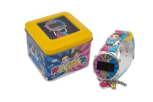 Me Contro Te orologio bambina lcd da polso charms digitale Sofi e Lui