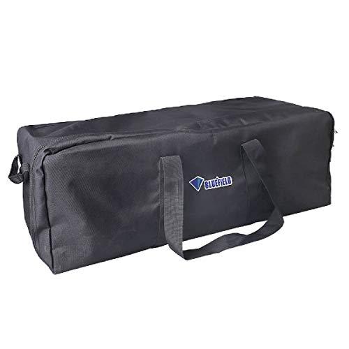 TRIWONDER Borsone da Viaggio, Borsoni Grandi 55 L 100 L 150 L, Boston Bag Impermeabile per Valigie Bagagli Viaggio Aereo Campeggio Escursionismo (Nero, 150L)