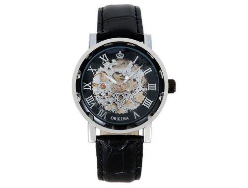 ORKINA yde1205-wac14–03–261–Uhr, Lederband schwarz