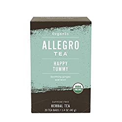 Allegro Tea, Organic Happy Tummy Tea Bags, 20 ct