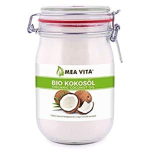 Meavita Aceite De Coco Orgánico, Virgen Y Prensado En Frío, 1000 ml