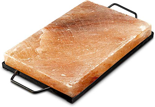 Natural Himalayan Pink Salt Tray for Serving Cooking Grilling & BBQ Plank...