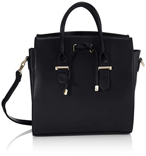 PIECES Damen PCSIGNE SHOPPER, Black, ONE Size