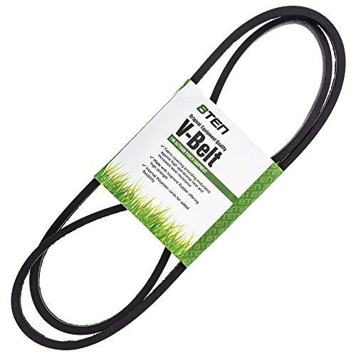 8TEN Drive Belt for MTD Cub Cadet LTX1042 LGT1050 LGTX1050 LTX1045 LTX1046 SLTX1050 Troy-Bilt TB2450 954-04207