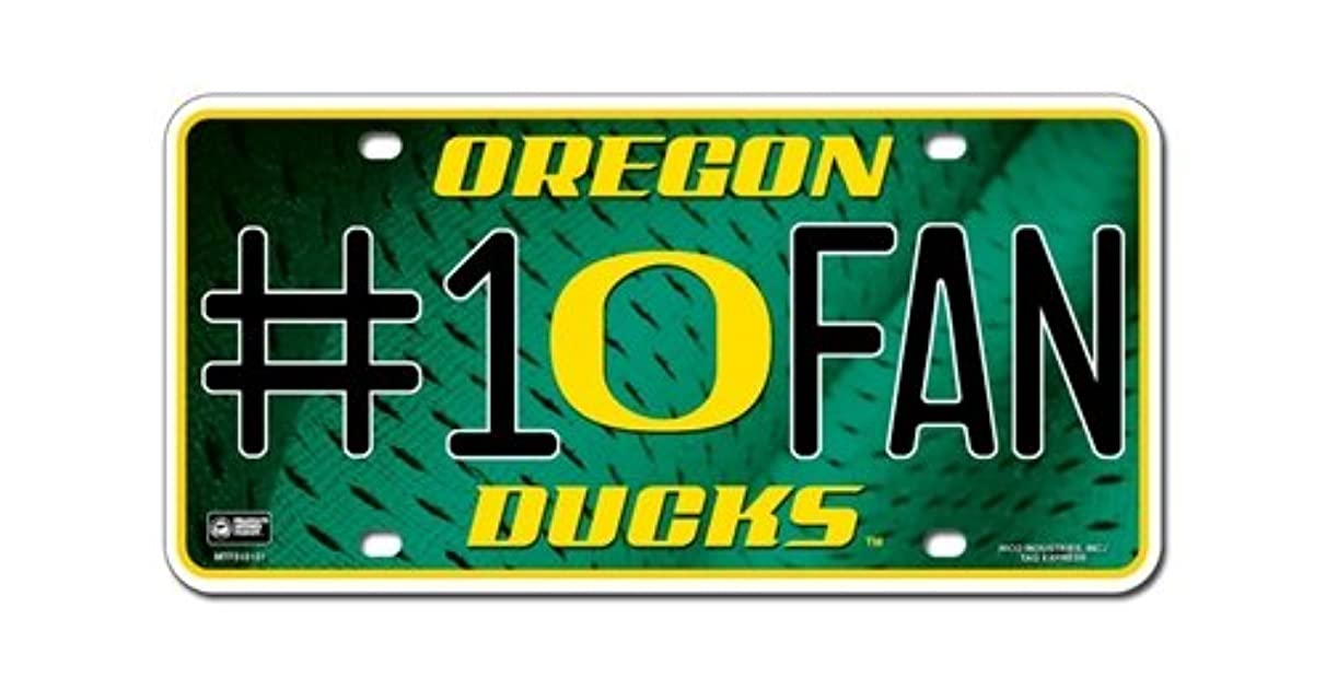 Oregon Ducks License Plate - #1 Fan