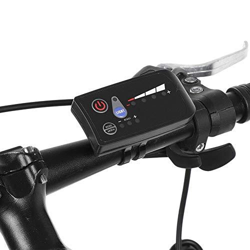 Dilwe Controller Brushless, Kit di motorini elettrici per Biciclette 250W / 350W con Pannello di visualizzazione a LED Impermeabile(36V)