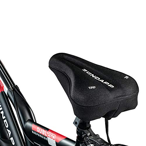 Zündapp Sattelüberzug Fahrrad Gelüberzug MTB Rennrad Trekkingrad Sattelauflage Sattel Bezug Fahrrad