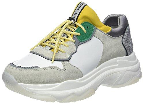 Bronx Baisley, Zapatillas para Mujer, Blanco, Blanco, Yellow...
