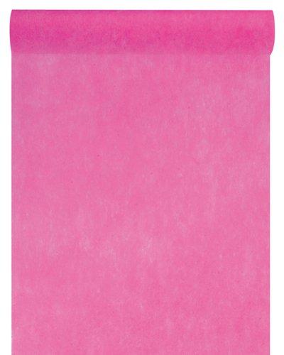 Vlies-Stoff 30cm (25m lang) Tischläufer Deko-Vlies Party Hochzeits-Dekoration (pink)