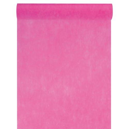 Tessuto non tessuto 30cm (25m di lunghezza), runner decorativo in tessuto non tessuto, decorazione per festa di nozze Pink