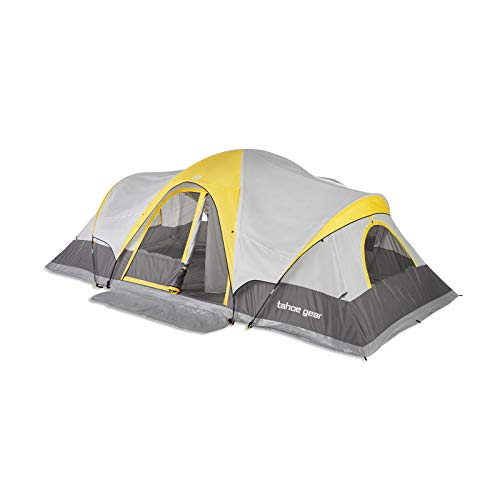 14-Person Family Outdoor Camping Tent with Rainfly, Orange - by AFI Outlet