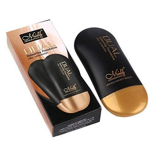 Me Now Dual Balancing Foundation Silky Complextion 50ml (B) for Medium to Dark Skin Tone