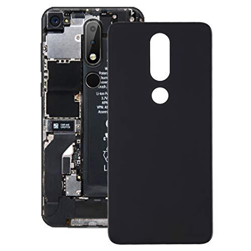Yukiki Cubierta for Nokia X6 (2018) (Negro) (Color : Black)