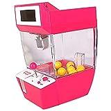 kaxofang doll claw machine slot gioco vending candy machine grabber arcade desktop catturato divertimento musica giocattoli divertenti gadget bambini