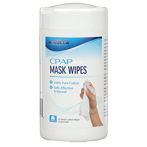 RESPURA AG-CLN-WI CPAP Mask Cleaning Wipes, 12-Pack