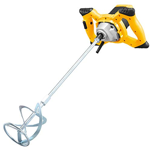 Electric Cement Mixer Portable, 1200W Handheld Paddle Concrete Drill Mixer Mixing Concrete/Cement/Paint/Epoxy/Mortar/Thin Set/Mud/Resin/Plaster,220v JIAJIAFUDR