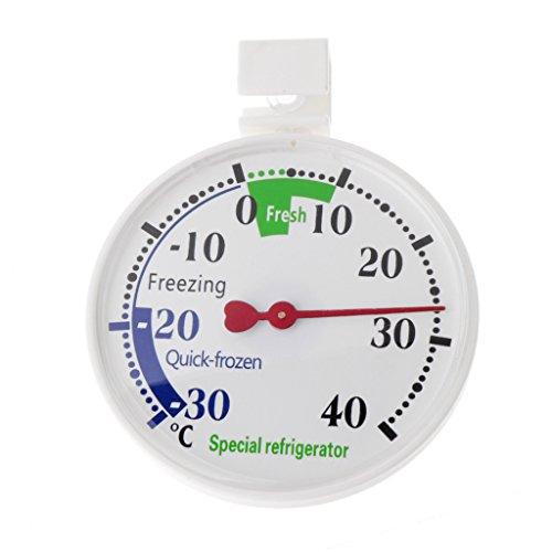 Eliky - Termómetro para nevera o congelador, para uso doméstico