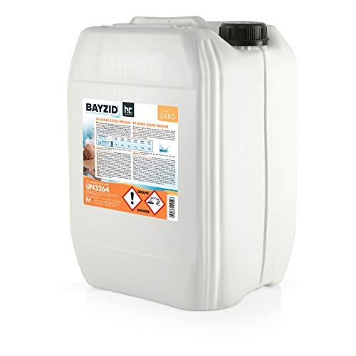 Höfer Chemie 1 x 24 kg BAYZID pH Senker Premium flüssig - für einen optimalen pH-Wert im Pool