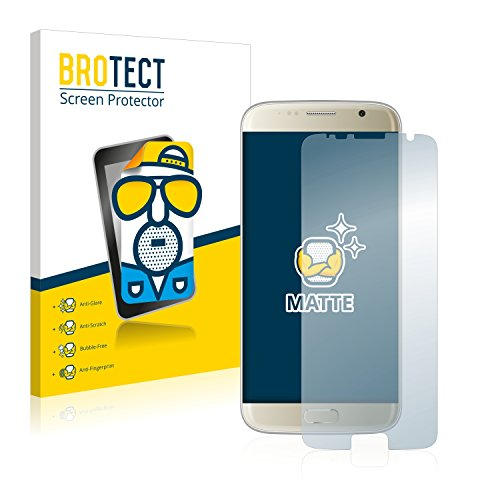 BROTECT 2X Entspiegelungs-Schutzfolie kompatibel mit Bluboo Edge Bildschirmschutz-Folie Matt, Anti-Reflex, Anti-Fingerprint