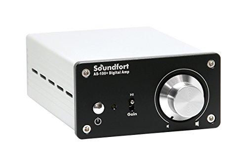 『Soundfort 小型高音質デジタルアンプ AS-100+』の2枚目の画像