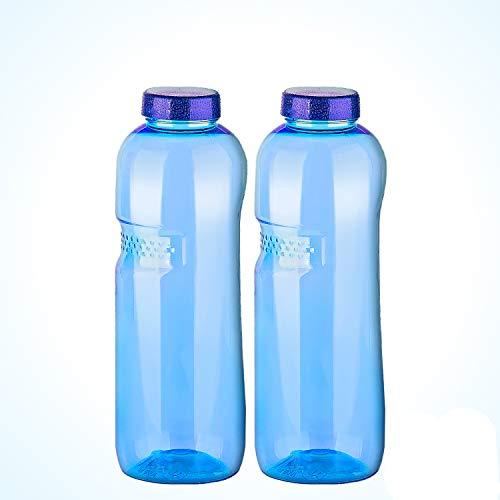 Greiner Trinkflasche 2 x 1L Wasserflasche ausTritan (BPA frei) Flasche