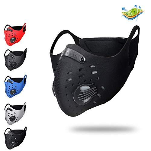 Training Mask Trainingsmaske Simulation Fitness Maske Workout Laufen Maske Atmung Mask Widerstand Maske Maske Cardio Maske Endurance Maske Fitness HöHentraining Maske FüR Workoutblack
