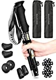 Trekking Poles Collapsible Lightweight for Height 5'3'-6'3', 2 Pack...