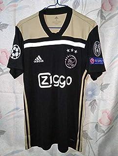 a83e238e68a55 BROOK AJAX Amsterdam Away CHAMPIONLEAGUE Soccer Jersey 2018-2019 Full UCL.  Patch