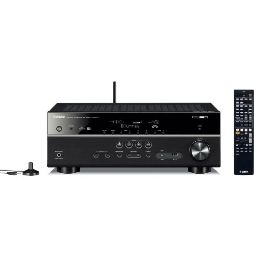 ヤマハ AVレシーバー 7.1ch/4K/ネットワークオーディオ/ハイレゾ音源対応 ブラック RX-V577(B)