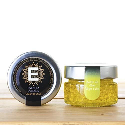 Caviar de Aceite de Oliva Variedad Picual 50 gr - Ver Unidades - Producto de Jaén - Esencia Andalusí (3 Unidades)