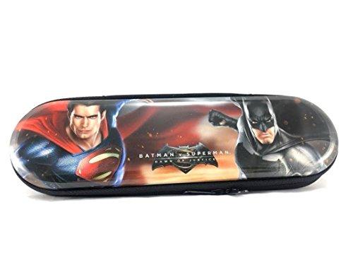 Marvel Batman Vs Superman, Dawn of Justice, Tin Zipper Pencil Case Holder