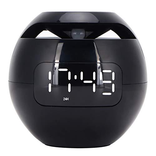 Jopwkuin Colorido Altavoz Bluetooth, luz de Noche Recargable, Altavoz Bluetooth, Forma de Bola portátil para Interior y Exterior para decoración del hogar