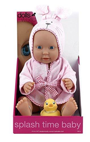 Dolls World Poupées Monde Splash Temps pour bébé Fille