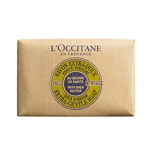 L'Occitane Extra-Gentle Vegetable Based Soap, Verbena, 8.8 oz
