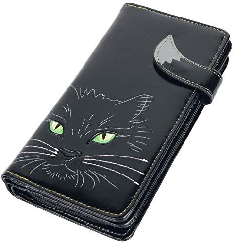 """Nemesis Now """"Lucky Cat"""" Geldbörse, 19 cm, Polyurethan, Einheitsgröße, Schwarz"""