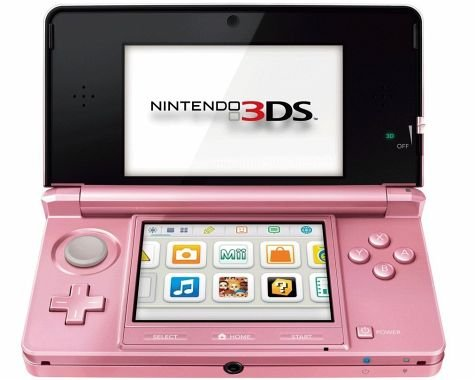 Nintendo 3DS Coral pink