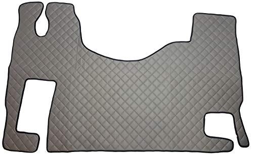 Unbekannt Juego de alfombrillas para ACTROS MP2 MP3, accesorios interiores automáticos para camiones, decoración, alfombra gris de piel sintética