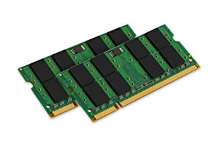 Kingston Technology KVR667D2S5K2/4G ValueRAM 4 GB 667 MHz DDR2 Non-ECC CL5 SODIMM Notebook Memory, Kit of 2 (B0010ZWTDA) | Amazon price tracker / tracking, Amazon price history charts, Amazon price watches, Amazon price drop alerts