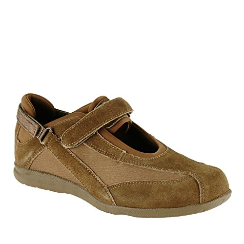 Drew Joy - Women's - Comfort Mary-Jane Olive Combo - 9.5 Medium