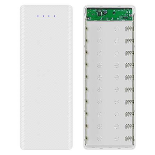 RipengPI DIY 10x18650 Batería Case Con Indicador Power Bank Shell Cargador Caja Accesorios para Batería