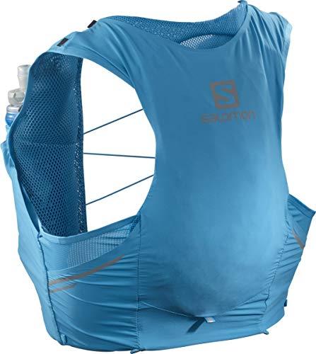 Salomon Sense Pro 5 Set Running Hydration Vest, Hawaiian Ocean/Black, Large