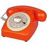 Hesily Teléfono Retro | Teléfono Fijo portátil |...