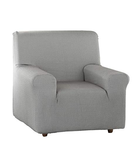 Estoralis Sari Funda de sofá elástica, Tela, Gris, 1 Plaza