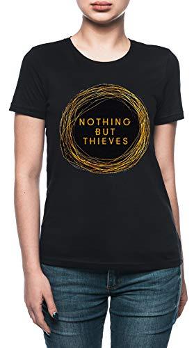 Das Wels Diebe Vermuten Damen T-Shirt Schwarz