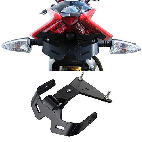 XYZDZ Motorrad Motorrad Hinten Kennzeichenhalter Halter Halter Kennzeichenhalter Fender Eliminator for Aprilia RS4 RS 125 50 RSV4 Tuono V4 1100RR Motorrad hinten Nummernschild