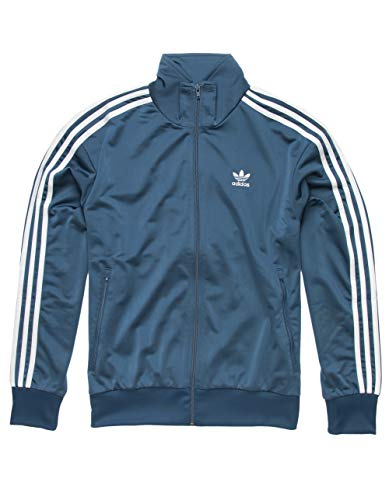 adidas Originals Men's Superstar Track Top Night Marine Medium