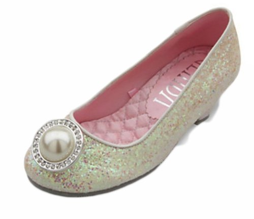 Disney Store Deluxe Glinda Shoes Good Witch Wizard of Oz Great and Powerful (11-12) Ivory