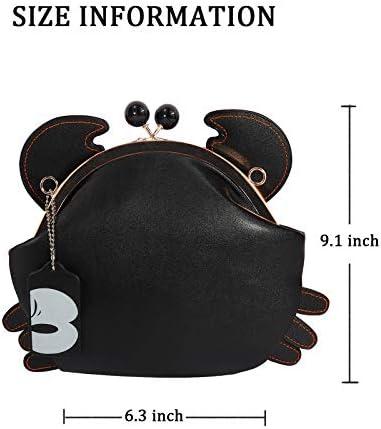 Clasp closure handbag _image1