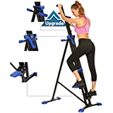 Mauccau Folding Exercise Step Machine & Indoor Vertical Climber - Home Gym, Total Body Workout...