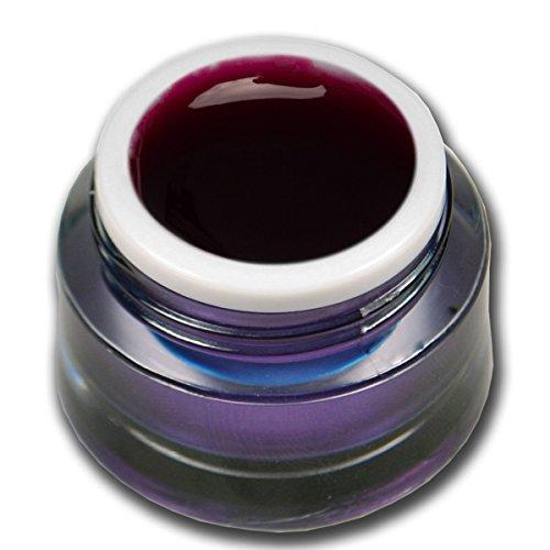5ml Farbgel Glasgel Rot Premium Colorgel RM Beautynails